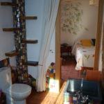 habitación mimosa baño